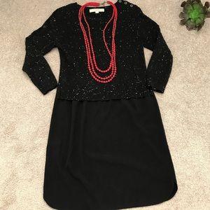 Ann Taylor Loft Knit Sweater Dress size XS